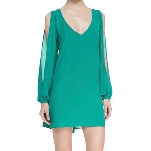 Lovers + Friends Gracie Split Sleeve Swing Dress M